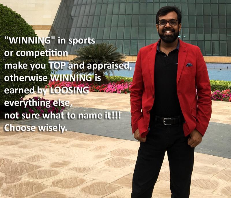 WINNING: Kapil Garg